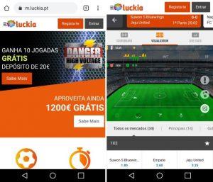 Luckia App ကို
